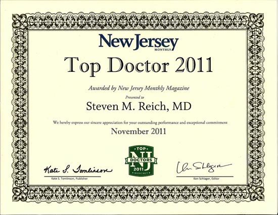 2011 Top Doctor - Reich